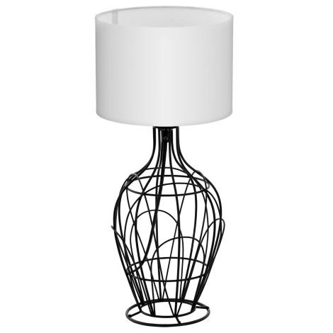 Eglo 94607 - Asztali lámpa FAGONA 1xE27/60W/230V