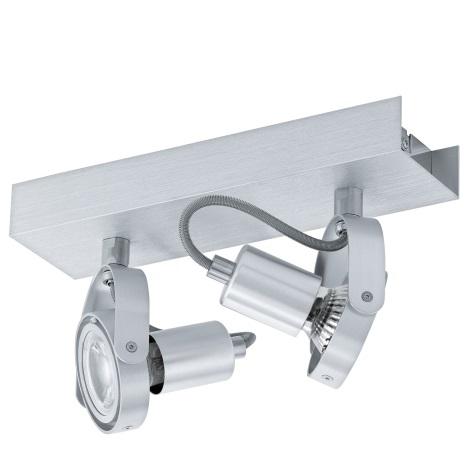 Eglo 94643 - LED Spotlámpa NOVORIO 2xGU10/5W/230V