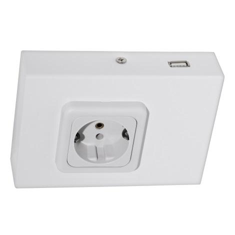 Eglo 94665 - Konyhai egység konnektor USB-vel TAXANO