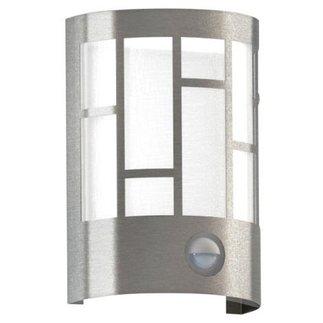 Eglo 94798 - Kültéri fali lámpa a mozgásérzékelős CERNO 1xE27/40W/230V