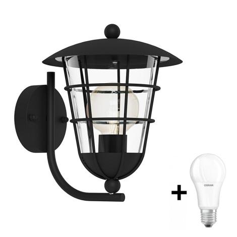 Eglo 94834 - Kültéri lámpa PULFERO 1xE27/60W/230V