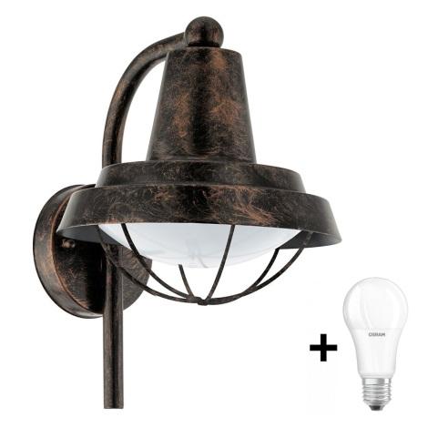 Eglo 94838 - Kültéri lámpa COLINDRES 1xE27/60W/230V