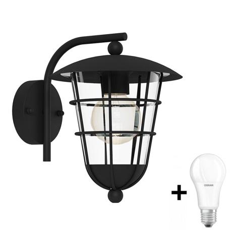 Eglo 94841 - Kültéri lámpa PULFERO 1xE27/60W/230V