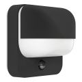 Eglo 94853 - Kültéri fali lámpa a mozgásérzékelős TRABADA 1xE27/40W/230V