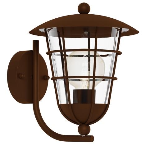 Eglo 94854 - Kültéri lámpa PULFERO 1 1xE27/60W/230V