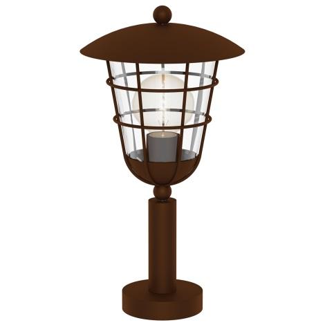 Eglo 94856 - Kültéri lámpa PULFERO 1 1xE27/60W/230V