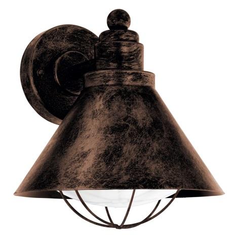 Eglo 94858 - Kültéri lámpa BARROSELA 1xE27/40W/230V