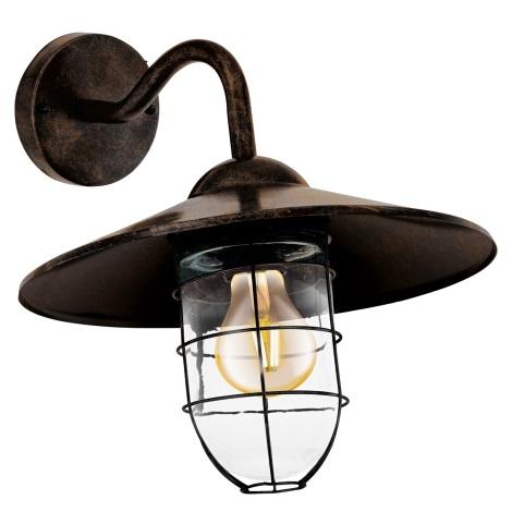 Eglo 94863 - Kültéri lámpa MELGOA 1xE27/60W/230V