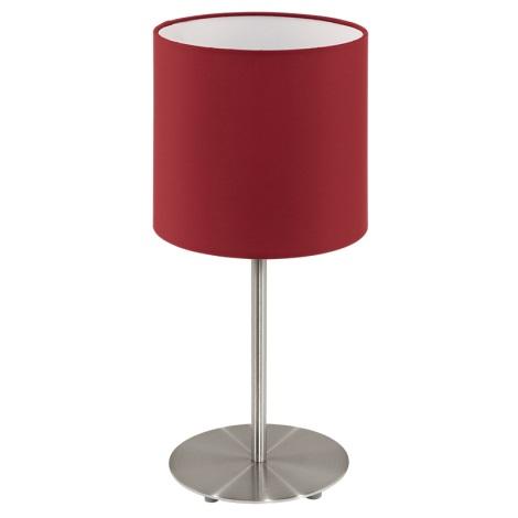 Eglo 94906 - Asztali lámpa PASTERI 1xE27/60W/230V