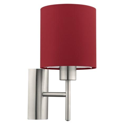 Eglo 94928 - Fali lámpa PASTERI 1xE27/60W/230V