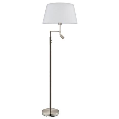 Eglo 94946 - Állólámpa SANTANDER 1xE27/60W + 1xLED/2,1W