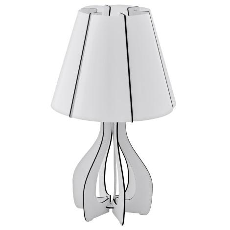 Eglo 94947 - Asztali lámpa COSSANO 1xE27/60W/230V
