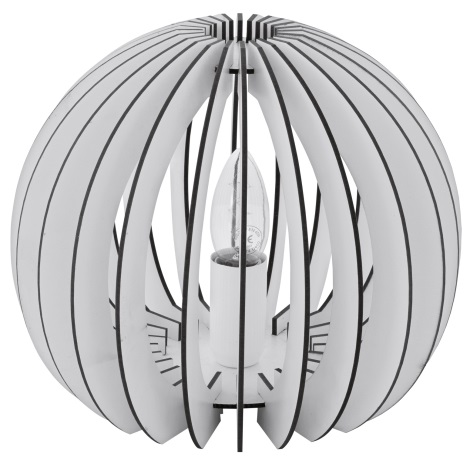 Eglo 94949 - Asztali lámpa COSSANO 1xE27/60W/230V
