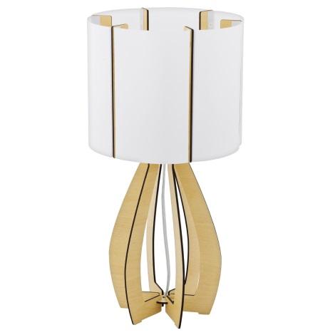 Eglo 94952 - Asztali lámpa COSSANO 1xE27/60W/230V