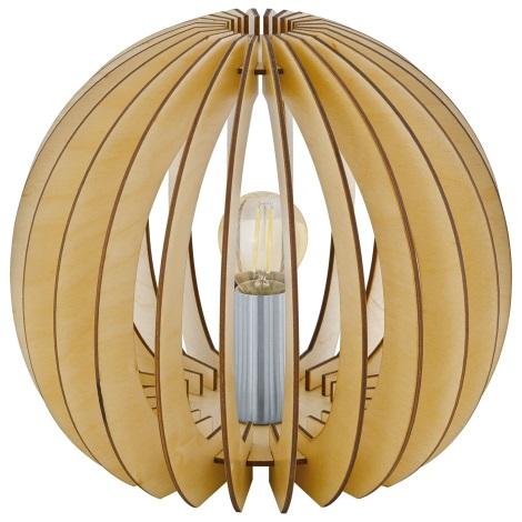 Eglo 94953 - Asztali lámpa  COSSANO 1xE27/60W/230V