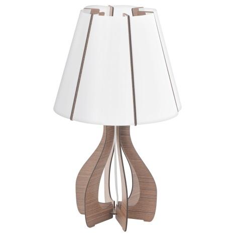 Eglo 94954 - Asztali lámpa COSSANO 1xE27/60W/230V