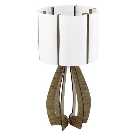 Eglo 94955 - Asztali lámpa COSSANO 1xE27/60W/230V