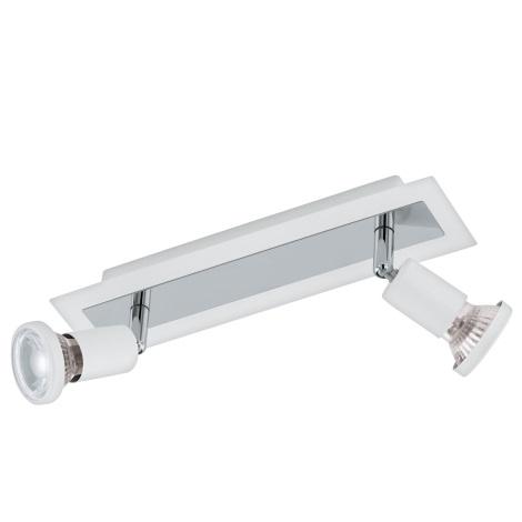 Eglo 94959 - LED Spotlámpa SARRIA 2xGU10-LED/5W/230V