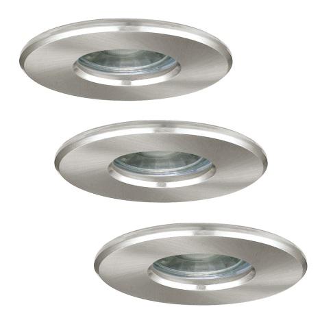 Eglo 94979 - SADA 3x LED Fürdőszobai lámpa IGOA 3xLED/3,3W/230V
