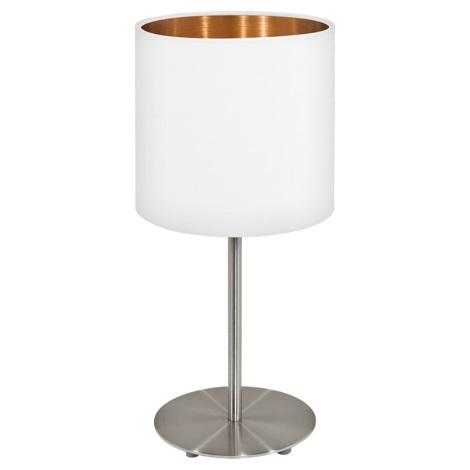 Eglo 95048 - Asztali lámpa MASERLO 1xE27/60W/230V