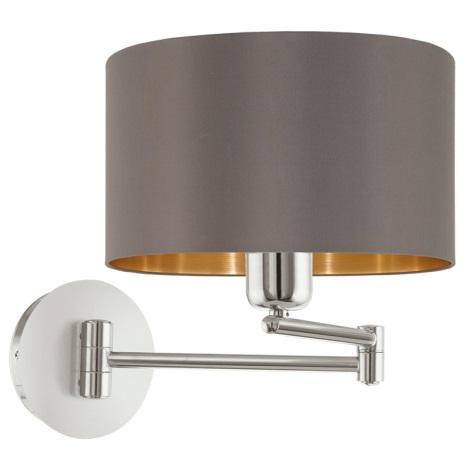 Eglo 95056 - Fali lámpa MASERLO 1xE27/60W/230V