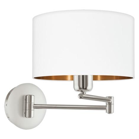 Eglo 95058 - Fali lámpa PASTERI 1xE27/60W/230V