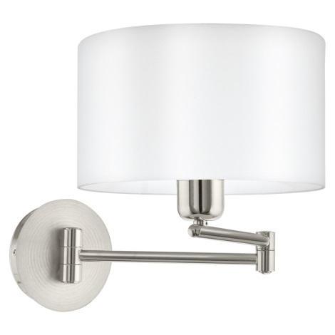 Eglo 95061 - Fali lámpa PASTERI 1xE27/60W/230V