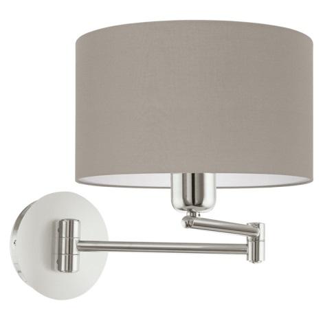 Eglo 95062 - Fali lámpa PASTERI 1xE27/60W/230V
