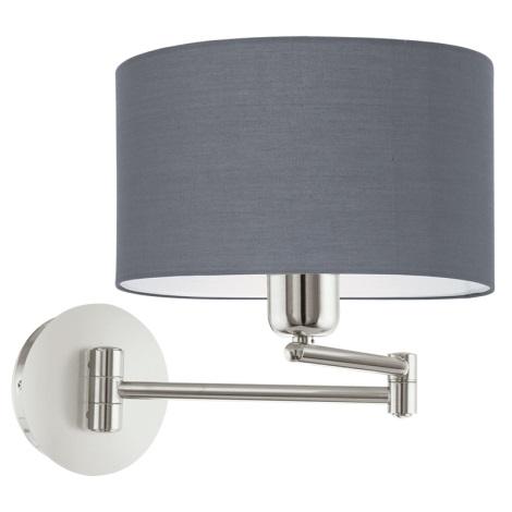 Eglo 95063 - Fali lámpa PASTERI 1xE27/60W/230V