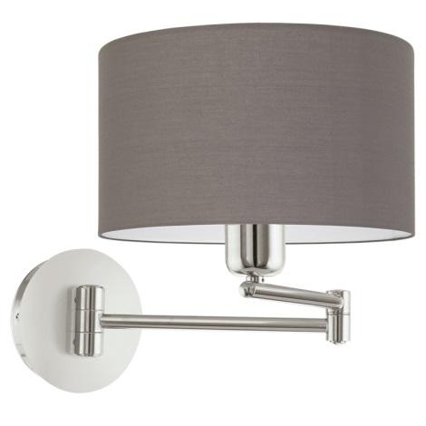 Eglo 95064 - Fali lámpa PASTERI 1xE27/60W/230V