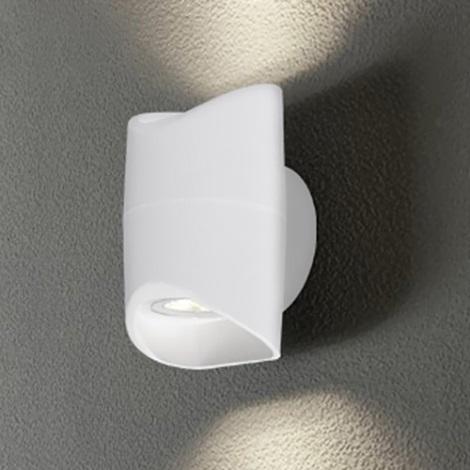 Eglo 95075 - Kültéri fali lámpa ABRANTES 2xLED/6W/230V