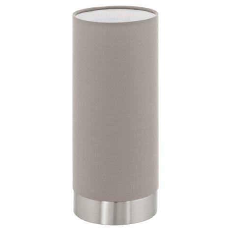Eglo 95122 - Szabályozható fényerejű lámpa PASTERI 1xE27/60W/230V