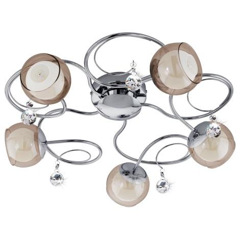 Eglo 95157 - LED Mennyezeti lámpa ASCOLESE 1 5xG9-LED/2,5W/230V