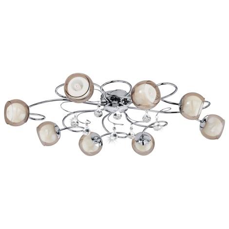 Eglo 95158 - LED Mennyezeti lámpa ASCOLESE 1 8xG9-LED/2,5W/230V