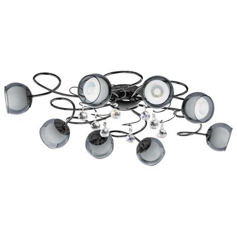 Eglo 95161 - LED Mennyezeti lámpa ASCOLESE 1 8xG9-LED/2,5W/230V