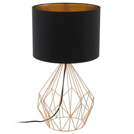 Eglo 95185 - Asztali lámpa PEDREGAL 1xE27/60W/230V