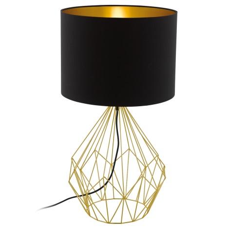 Eglo 95186 - Asztali lámpa PEDREGAL 1xE27/60W/230V