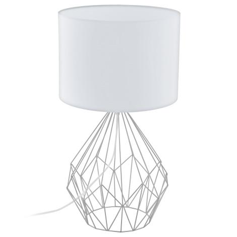 Eglo 95187 - Asztali lámpa PEDREGAL 1xE27/60W/230V