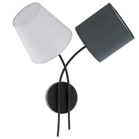 Eglo 95193 - Fali lámpa ALMEIDA 2xE14/40W/230V