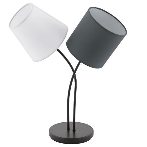 Eglo 95194 - Asztali lámpa ALMEIDA 2xE14/40W/230V