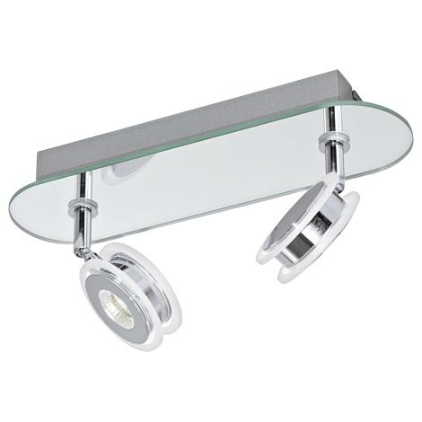 Eglo 95278 - LED Fürdőszobai lámpa AGUEDA 2xLED/3,3W/230V