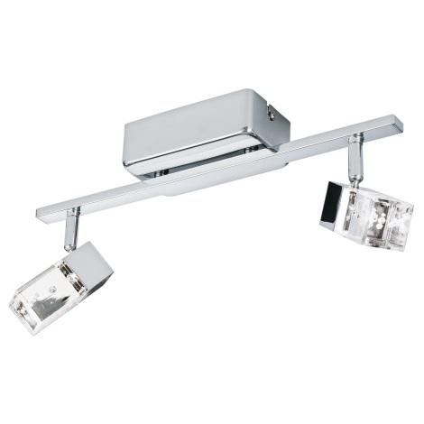 Eglo 95293 - LED Spotlámpa CANTIL 2xLED/3,3W/230V