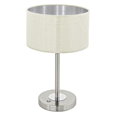 Eglo 95334 - LED Asztali lámpa ROMAO 1 LED/12W/230V