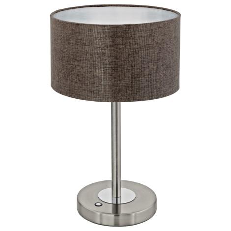 Eglo 95343 - LED Asztali lámpa ROMAO 2 LED/12W/230V
