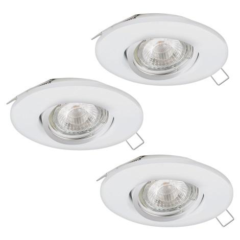 Eglo 95357 - SET 3x LED Beépíthető lámpa TEDO 3xGU10-LED/5W/230V