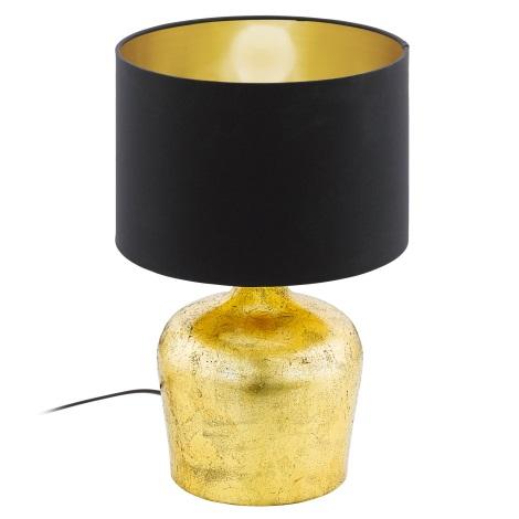 Eglo 95386 - Asztali lámpa MANALBA 1xE27/60W/230V