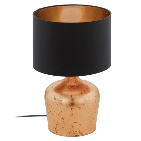 Eglo 95387 - Asztali lámpa MANALBA 1xE27/60W/230V