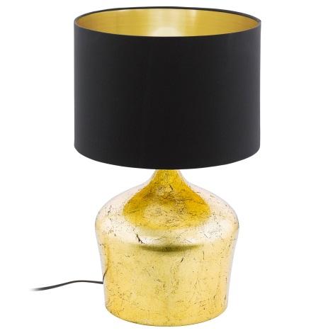 Eglo 95395 - Asztali lámpa MANALBA 1xE27/60W/230V
