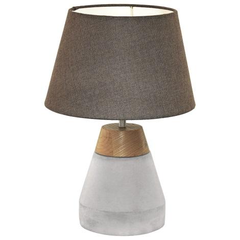 Eglo 95527 - Asztali lámpa TAREGA 1xE27/60W/230V
