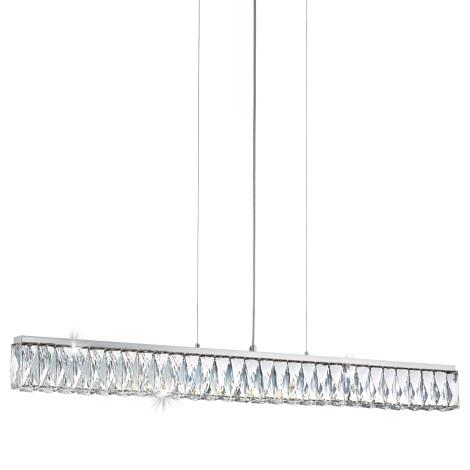 Eglo 95543 - Kristály csillár TELLUGIO-S LED/36W/230V
